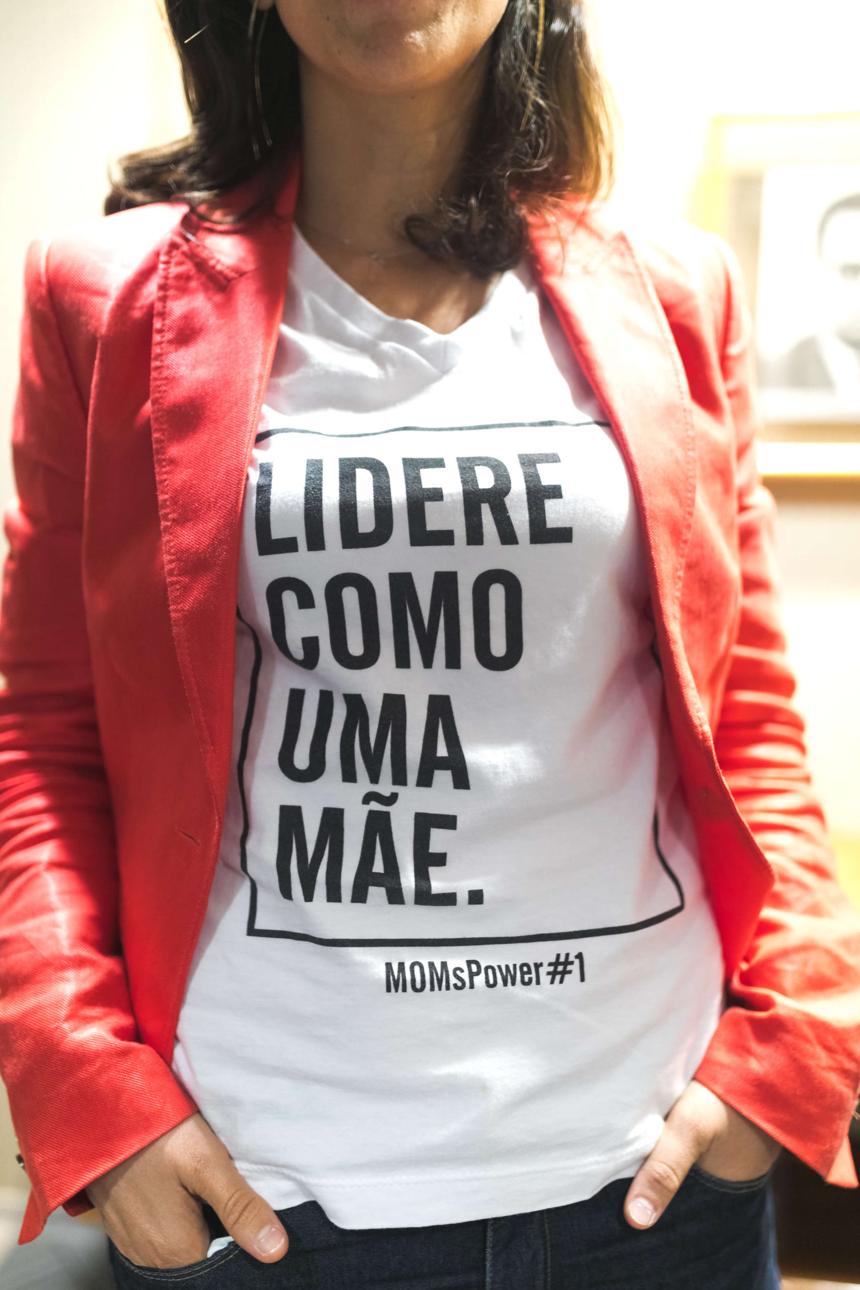 Camiseta MOMsPower#1_LidereComoMãe