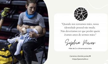 Sophie Power #lideracomomãe nas ultramaratonas